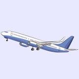 Vector. Aircraft. Stock Photography