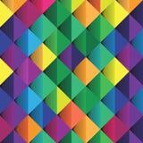 Vector ajustado colorido abstracto del diseño del fondo ilustración del vector