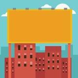 Vector al aire libre de la cartelera Imágenes de archivo libres de regalías