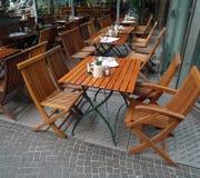 Vector al aire libre del restaurante Imagenes de archivo
