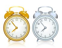 Vector alarm clock Stock Photos