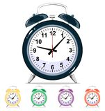 Vector alarm clock Royalty Free Stock Photography