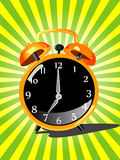Vector alarm clock Stock Photo