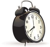 Vector alarm clock Royalty Free Stock Photos