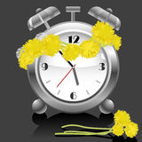 Vector alarm clock Stock Image