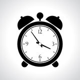 Vector alarmclock icon Stock Image