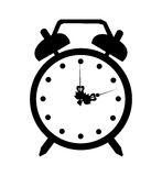 Vector alarmclock icon Royalty Free Stock Images