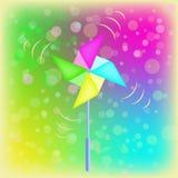 Vector a aleta de tempo em uma forma da flor Imagem de Stock
