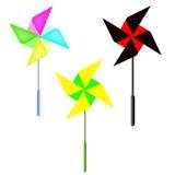 Vector a aleta de tempo em uma forma da flor Fotos de Stock Royalty Free