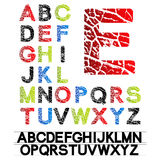 vector alphabet Royalty Free Stock Photography
