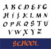 Vector alphabet. Royalty Free Stock Images