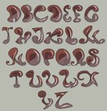 Vector Alphabet Royalty Free Stock Images