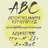 Vector alphabet. Stock Photography