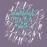 Vector alphabet. Royalty Free Stock Photos