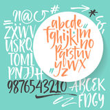 Vector alphabet. Royalty Free Stock Photography