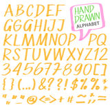 Vector alphabet Stock Photo