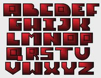Vector Alphabet Letters Stock Images