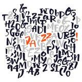 Vector alphabet. Poster Royalty Free Stock Photos