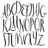 Vector alphabet Royalty Free Stock Image