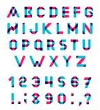 Vector Alphabet Set Stock Photos