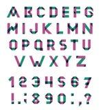 Vector Alphabet Set Royalty Free Stock Image