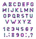 Vector Alphabet Set Royalty Free Stock Photography