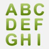 Vector Alphabet Set. Royalty Free Stock Photography