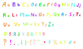 Vector Alphabet Set Image 22 Stock Photography