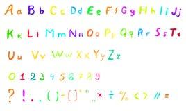 Vector Alphabet Set Image 22 Stock Photography
