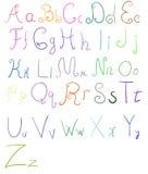 Vector Alphabet Set Image 11 Royalty Free Stock Photography