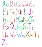 Vector Alphabet Set Image 44 Royalty Free Stock Images