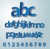 Vector alphabet set stock illustration