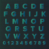 Vector alphabet set Royalty Free Stock Photography