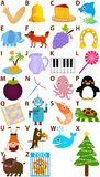Vector Alphabet Set : A to Z Royalty Free Stock Image