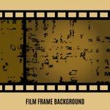 Vector alten Film, Film, Stehfilmfahne Stock Abbildung