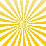 Vector amarillo eps10 del modelo del resplandor solar de los rayos del sol del color el sol amarillo irradia el fondo del resplan libre illustration