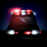 Vector Ambulance Royalty Free Stock Images