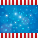 Vector american abstract star background Royalty Free Stock Images