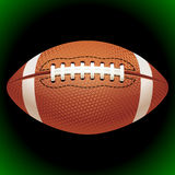 Vector American football ball Stock Images