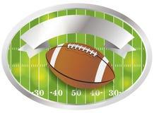 Vector American Football Emblem and Badge Stock Image