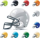 Vector American football / gridiron icon set. Part Stock Photo