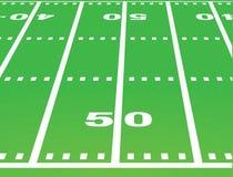 Vector americano del campo de fútbol libre illustration