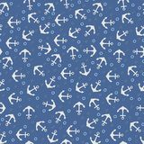 Vector anchor pattern Stock Images