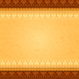 Vector ancient background. With east ornament Royalty Free Stock Photography