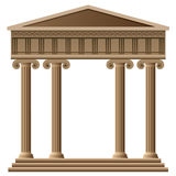 Vector ancient greek architecture Royalty Free Stock Images