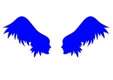 Vector angel wings. Stock Image