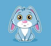 Vector animal lindo de la mascota de la serie del personaje de dibujos animados fotografía de archivo libre de regalías