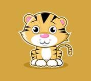 Vector animal lindo de la mascota de la serie del personaje de dibujos animados fotografía de archivo
