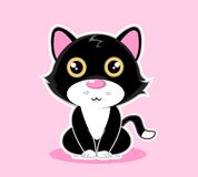 Vector animal lindo de la mascota de la serie del personaje de dibujos animados imagenes de archivo