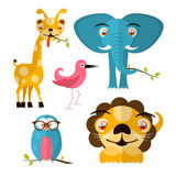 Vector Animals Illustration Stock Photography
